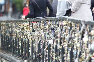 The lock bridge of love.