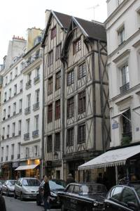 The oldest buildings in Paris.