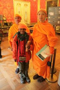 Buddhist monks from Thailand, we might meet them again.