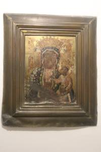http://en.wikipedia.org/wiki/Black_Madonna_of_Cz%C4%99stochowa