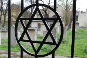 Jewish cemetery in Krakow.