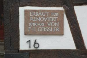 The village we stayed in just outside Stuttgart was around since 1528. 250 years before the birth of America.