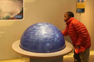 Wind globe at a children's museum.