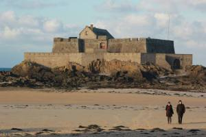 Another shot of Fort National at low tide.
